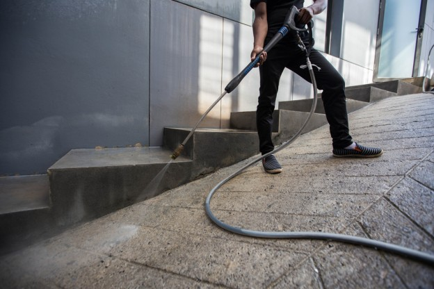 industrial pressure washers in shropshire