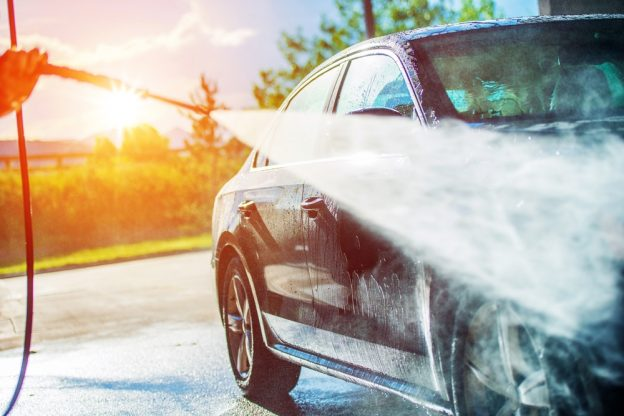 pressure washers - car - britclean