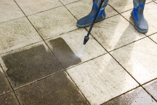 pressure washers - patio cleaning
