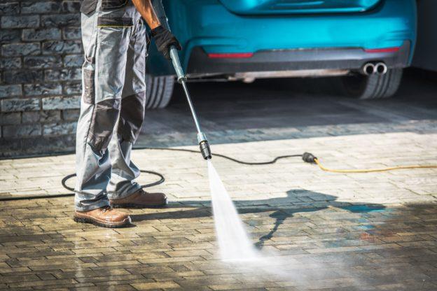 pressure washers - driveways