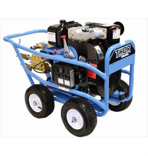 petrol - diesel pressure washers